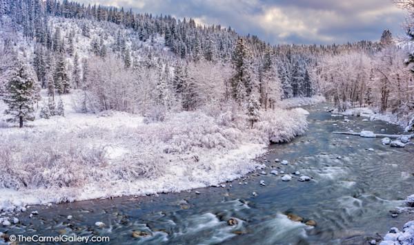 Winter Panorama Truckee River