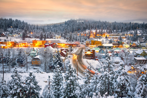 Winter Dawn Truckee