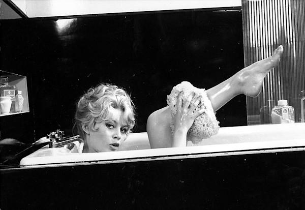 Brigitte Bardot Bathtub