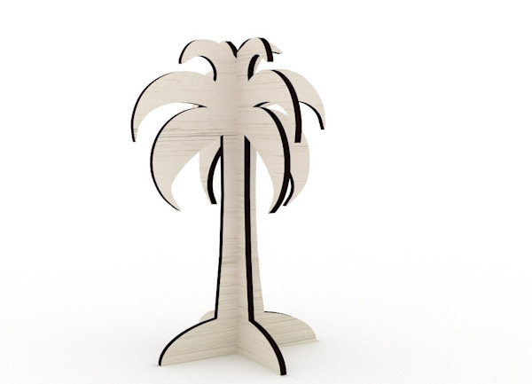 Palm Tree Cut-Out