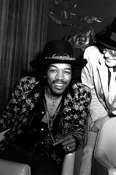 Jimi Hendrix New York Press Conference