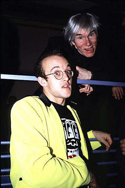 Andy Warhol and Keith Haring