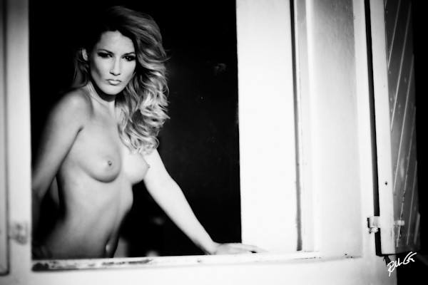 Exotic Window Nude