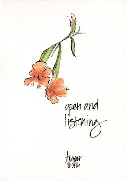 Open and Listening
