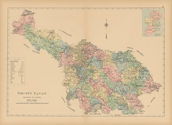 map of county cavan