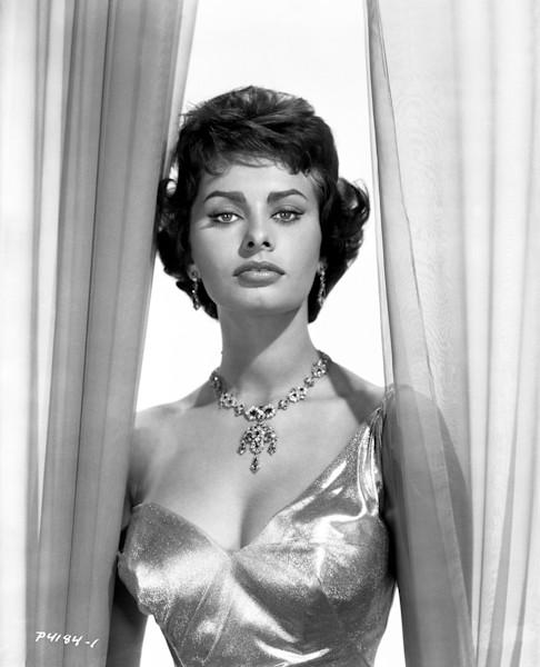 Sophia Loren Classic Portrait