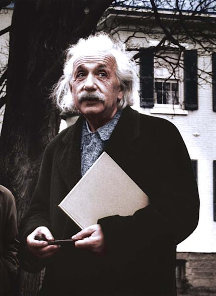 Candid Dr. Albert Einstein