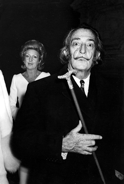 Salvador Dali Close Up