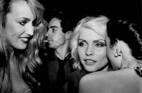 Debbie Harry and Jerry Hall Studio 54