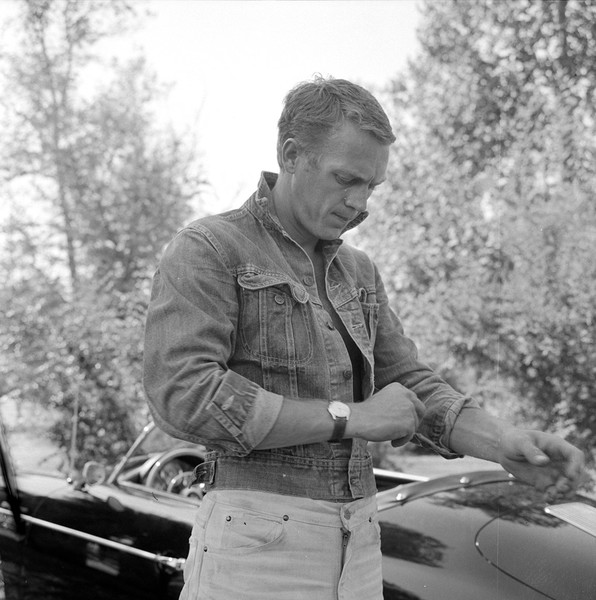 Steve McQueen and his porch