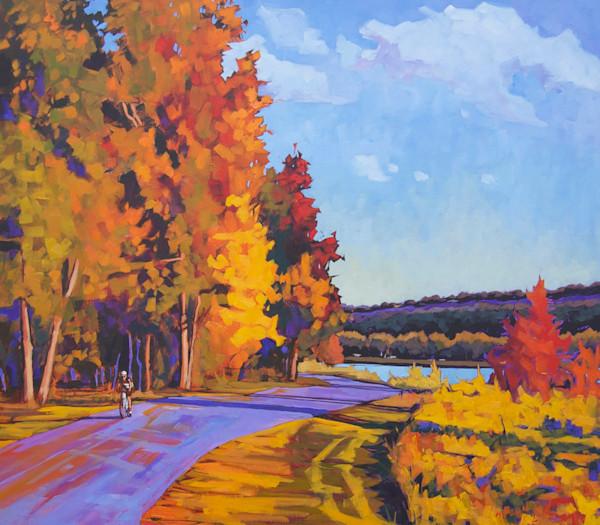 Beautiful Ride painting print by artist Matt McLeod