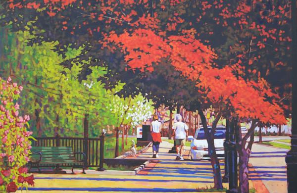 Boulevard Walk by Matt Mcleod.