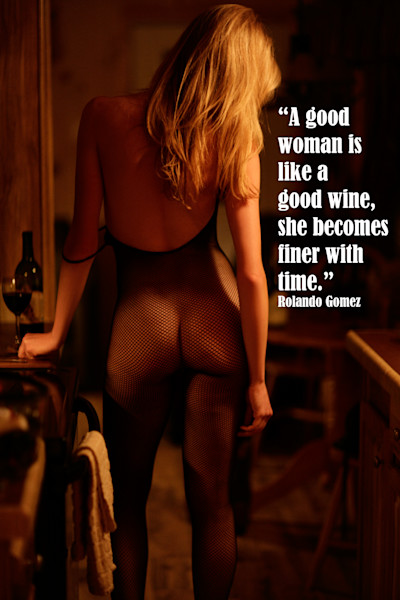 Good Woman and Wine