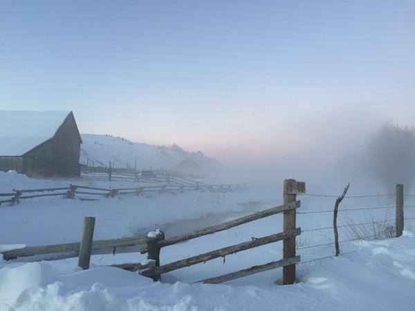 Wyoming Barn Yard
