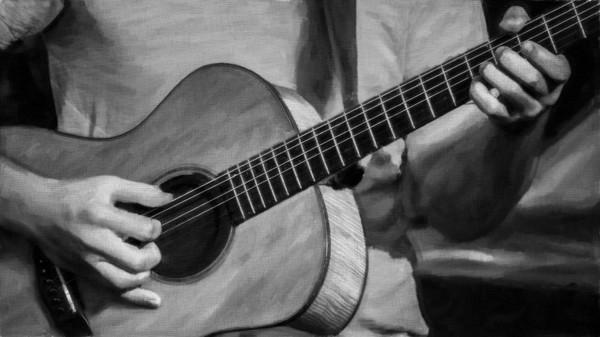 Guitar Musician Song Closeup Acoustic|Wall Decor fleblanc