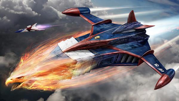 Battle of the Planets Fiery Phoenix