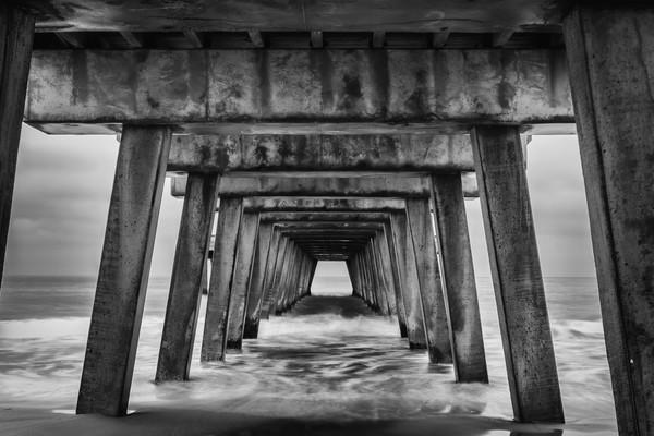 Under the Tybee Pier