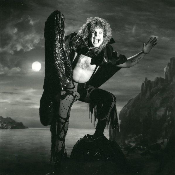 Ozzy Osbourne epic pose