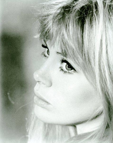 Britt Ekland close up
