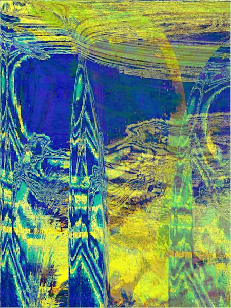 BLUE SPIRED STALAGMITE