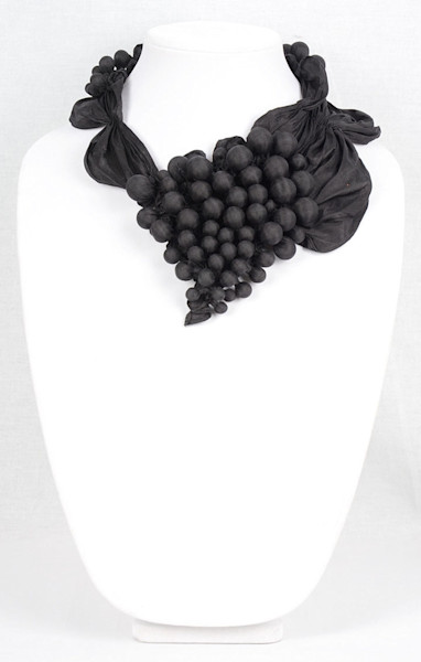 Grapes on the Vine in Black