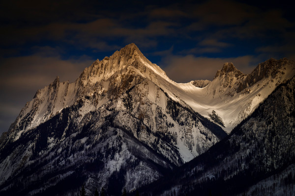 Mt. Ishbel Banff National Park.Canadian Rockies|Rocky Mountains|