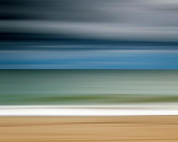 """Ocean Storm"" - Martha's Vineyard Abstract Beach Wall Art"