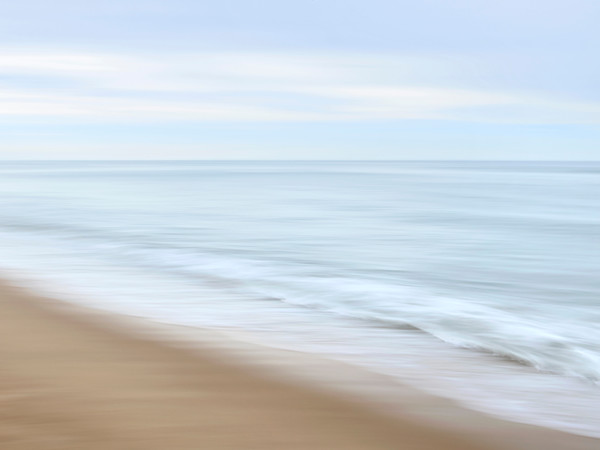"""Soft Crash"" - Soothing Cape Cod beach wall art"