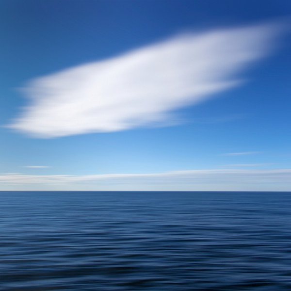 """Cloud Dance"" Abstract ocean photography print by Katherine Gendreau"
