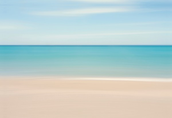 """Caribbean Feeling"" - Soothing Abstract Coastal Art"
