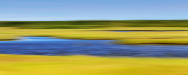 """Folger's Marsh"" - Abstract Nantucket Landscape Photography"