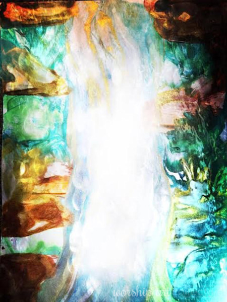 """Waterfall Of God's Love"" by Samantha Black 