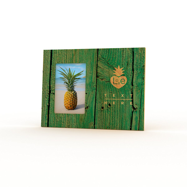 9x12 Personalized Picture Frame | Pineapple Love