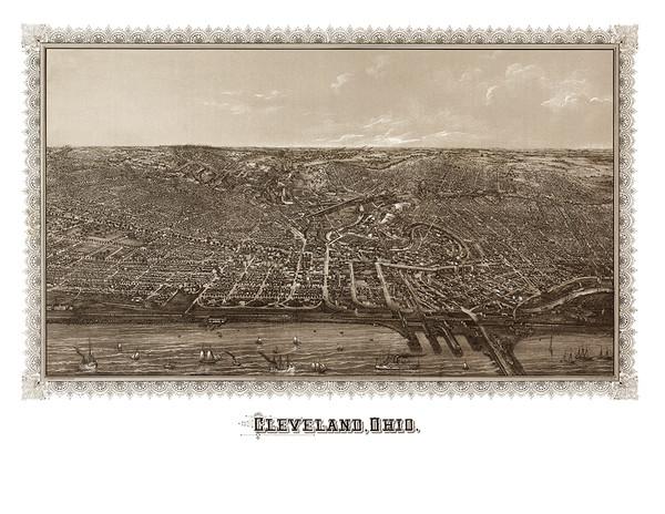 Cleveland, Ohio 1887