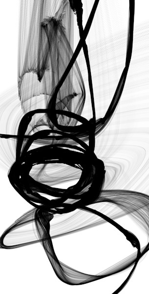 B & W ABSTRACT ART. Contemporary black and white abstract artwork. Abstract new media paintings for sale. Abstract art for sale.