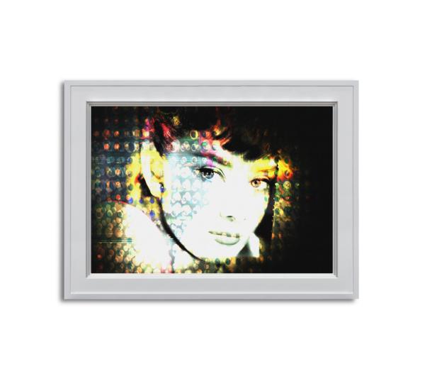 Audrey Hepburn Horizontal