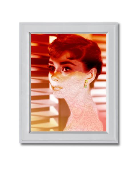Audrey Hepburn in Sabrina fine art