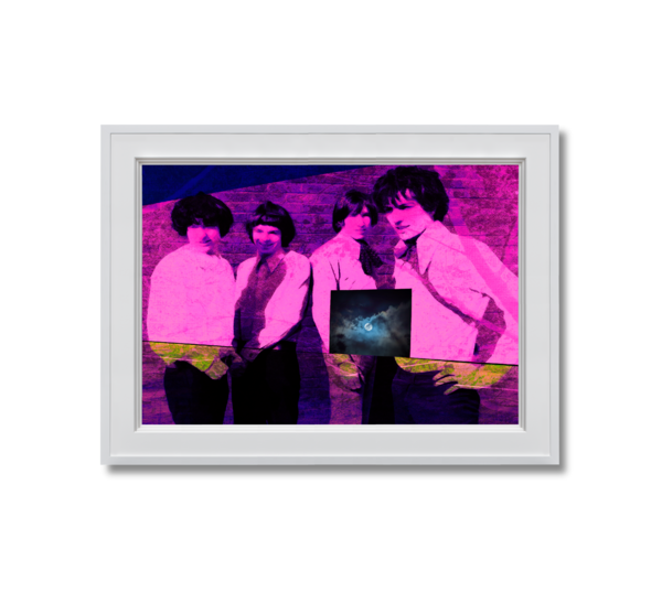 Fine art photograph pink floyd in pink