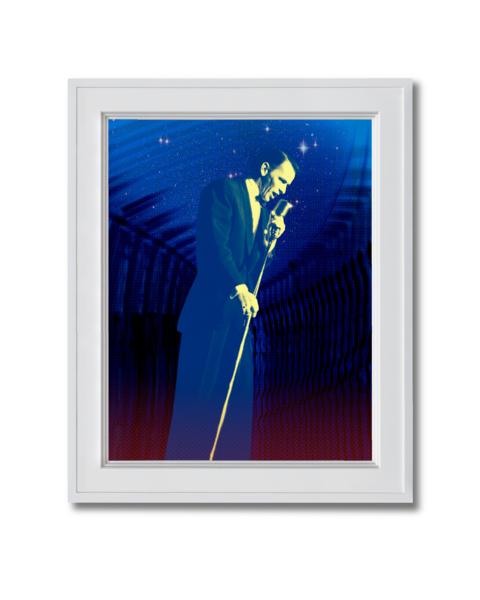 Fine art photograph frank sinatra under the starts