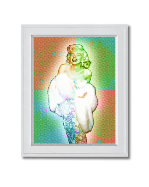 Fine art photograph marilyn Monroe Glowing