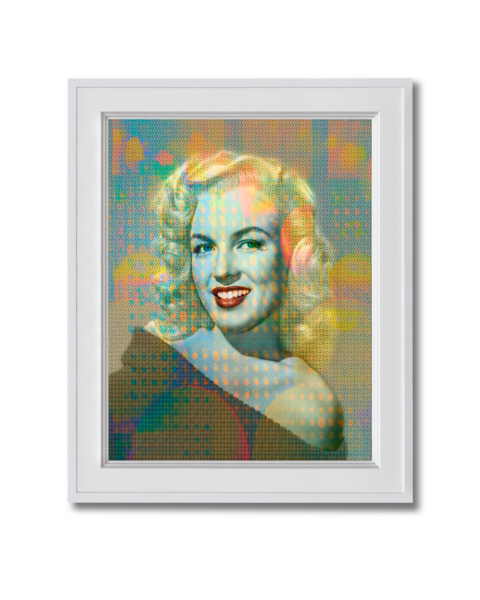 Fine art photograph marilyn monroe early picture