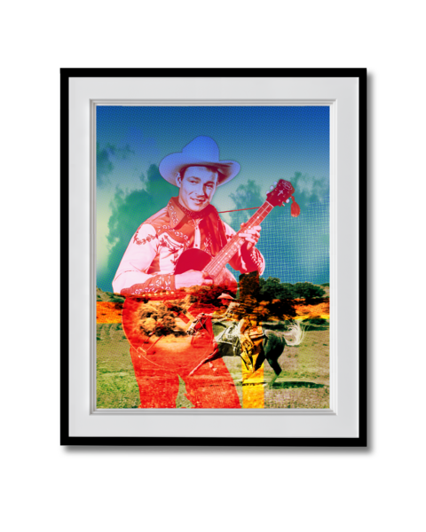 Fine art photograph Roy Rogers and the Trigger