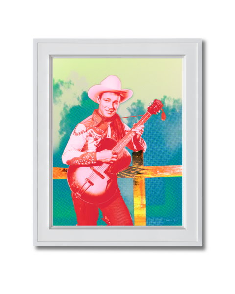 Fine art photograph Roy Rogers in Red