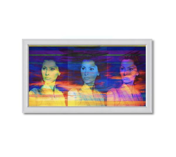 Fine art photograph three sophia lorens