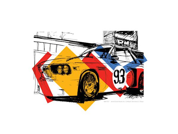 BMW Art Car Print