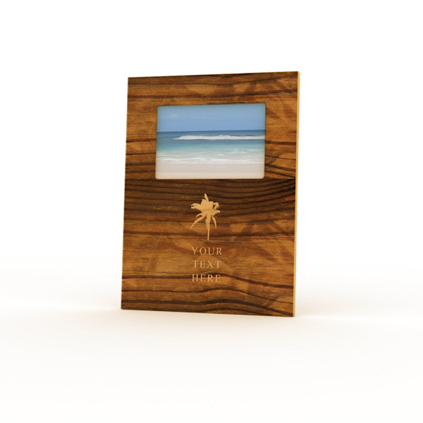 9x12 Personalized Picture Frame | Palm Tree