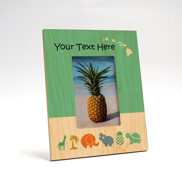 8x10 Personalized Picture Frame   Baby Animals