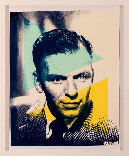 Fine art photograph a peter tunny photo. Frank Sinatra portrait