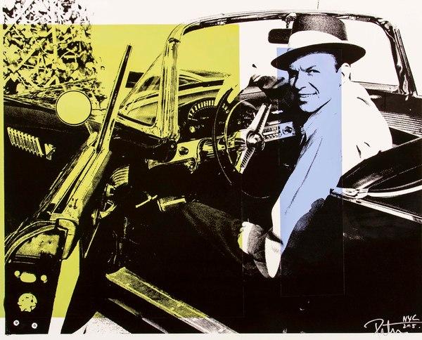 Fine art photograph a peter tunny photo. Frank Sinatra Thunderbird