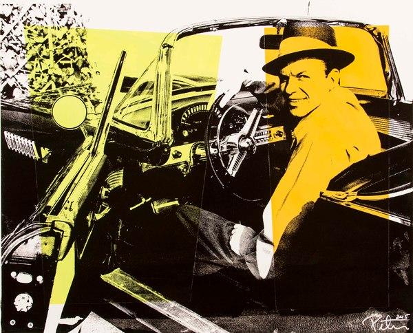 Fine art photograph a peter tunny photo. Frank Sinatra Thunderbird two